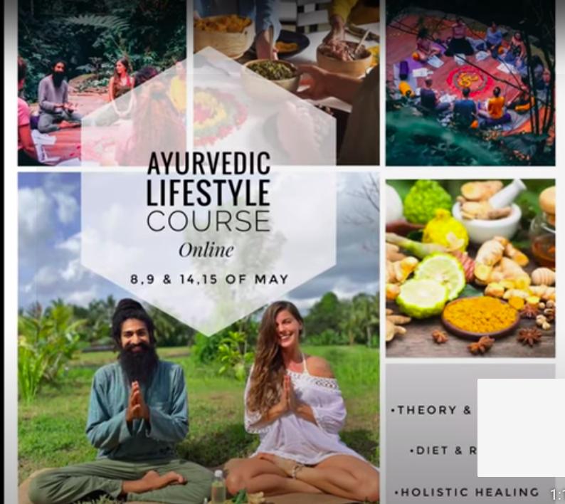 Ayurvedic Lifestyle Course